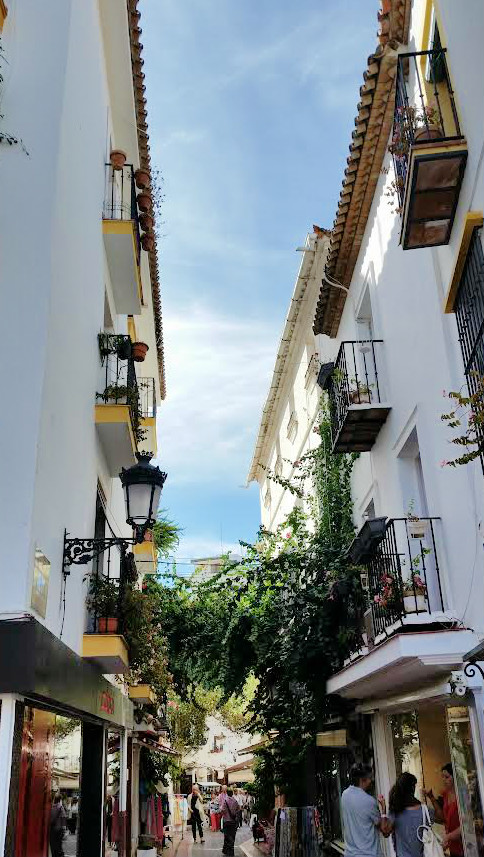 Streets of Old Town Marbella